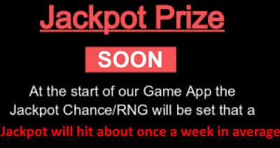 jackpot prize 400 soon red